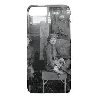 Women electric welders at Hog_War image iPhone 7 Case