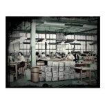 Women Factory Workers WWII Postcard