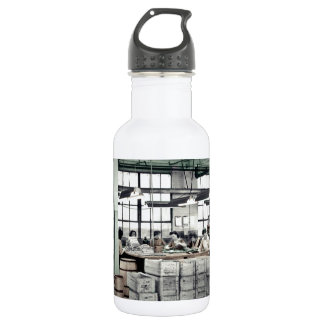 Women Factory Workers WWII Stainless Steel Water Bottle