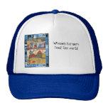 Women farmers feed the world mesh hats