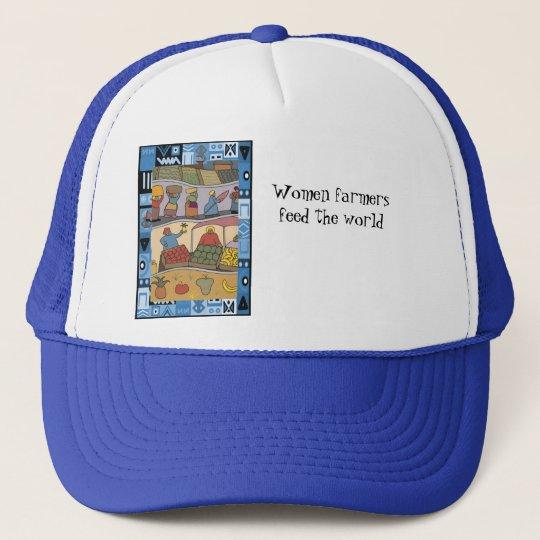 Women farmers feed the world trucker hat