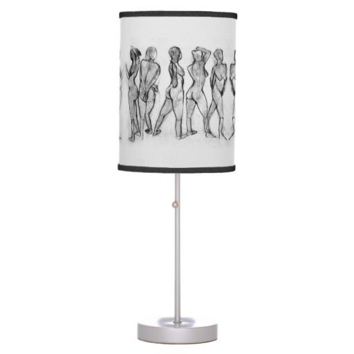 Table lamp design drawing