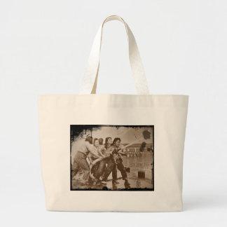 Women Firefighters Pearl Harbor December 7 Large Tote Bag