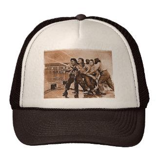 Women Firefighters Pearl Harbor December 7th Hat