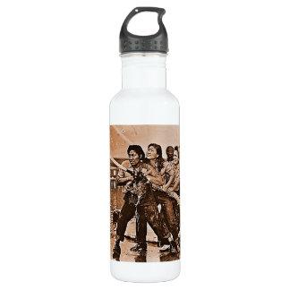 Women Firefighters Pearl Harbor December 7th Stainless Steel Water Bottle