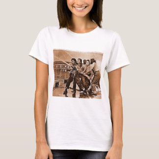 Women Firefighters Pearl Harbor December 7th T-Shirt