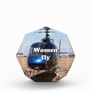 Women fly: blue helicopter award