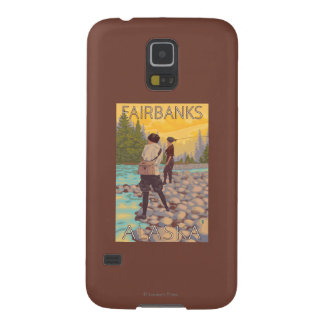 Women Fly Fishing - Fairbanks, Alaska Case For Galaxy S5