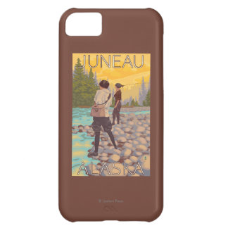 Women Fly Fishing - Juneau, Alaska iPhone 5C Cover