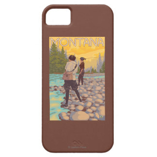 Women Fly Fishing - Montana iPhone SE/5/5s Case