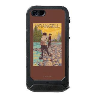 Women Fly Fishing - Wrangell, Alaska Waterproof Case For iPhone SE/5/5s