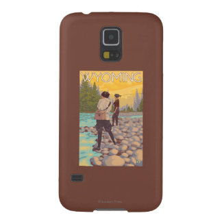Women Fly Fishing - Wyoming Case For Galaxy S5