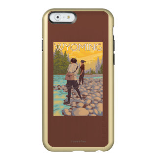 Women Fly Fishing - Wyoming Incipio Feather® Shine iPhone 6 Case