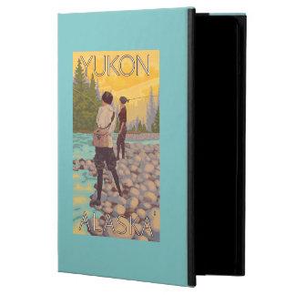 Women Fly Fishing - Yukon, Alaska iPad Air Case