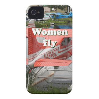 Women fly: float plane 23, Alaska iPhone 4 Case-Mate Case