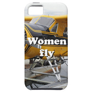Women fly: float plane, Lake Hood, Alaska iPhone SE/5/5s Case