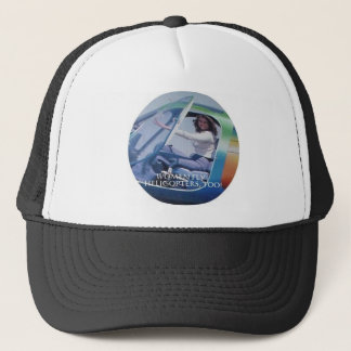 WOMEN FLY HELICOPTERS TOO TRUCKER HAT
