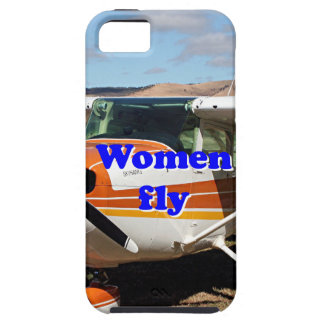 Women fly: high wing aircraft iPhone SE/5/5s case
