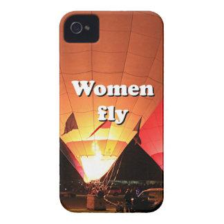 Women fly: hot air balloon 2 iPhone 4 Case-Mate case