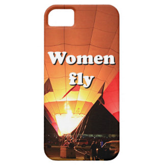 Women fly: hot air balloon 2 iPhone SE/5/5s case