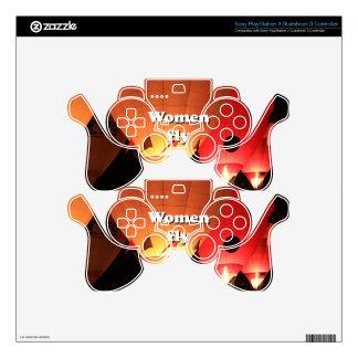 Women fly: hot air balloon 2 skin for PS3 controller