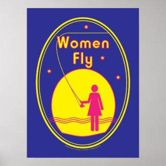 Women Fly poster