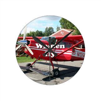 Women fly: ski plane, Talkeetna, Alaska Round Clock