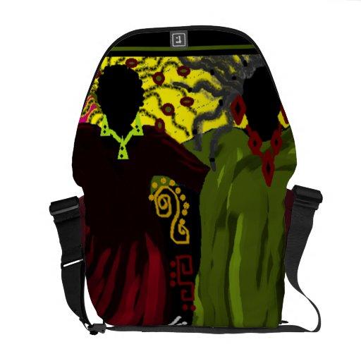 'WOMEN FOLK' MESSENGER BAG
