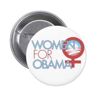 Women for Barack Obama 2012 Button