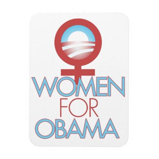 Women for Barack Obama 2012 Magnets