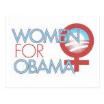 Women for Barack Obama 2012 Post Cards