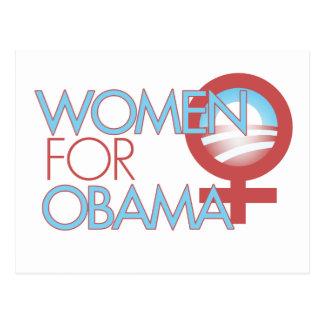 Women for Barack Obama 2012 Postcard