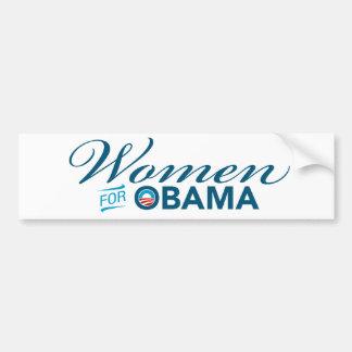 Women For Barack Obama Bumper Sticker Car Bumper Sticker