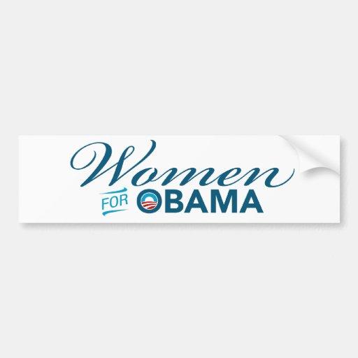 Women For Barack Obama Bumper Sticker