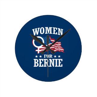 WOMEN FOR BERNIE SANDERS ROUND CLOCK