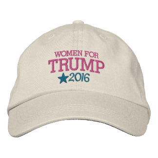 Women for Donald Trump - President 2016 Baseball Cap
