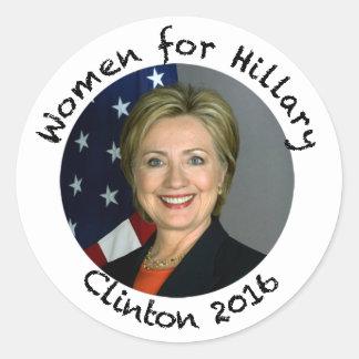 Women for Hillary Clinton - 2016 Classic Round Sticker