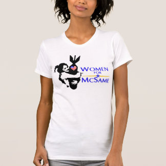 Women for John McCain for President! Tshirt