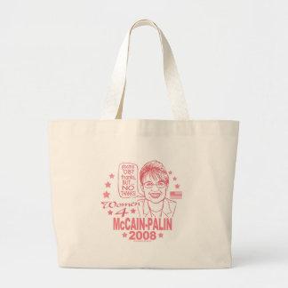 Women for McCain Palin 2008 Canvas Bag