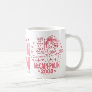 Women for McCain Palin 2008 Coffee Mug