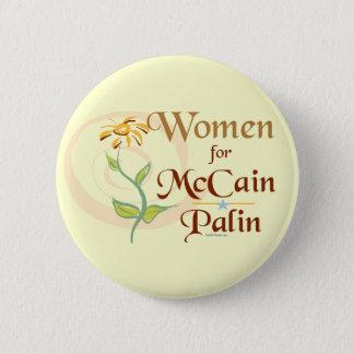 Women for McCain/Palin Button