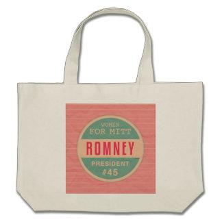 Women For Mitt Romney Canvas Bag