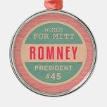 Women For Mitt Romney Christmas Tree Ornament
