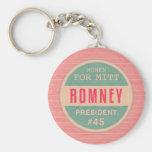 Women For Mitt Romney Key Chains
