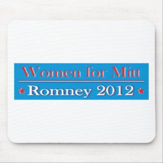 WOMEN FOR MITT ROMNEY MOUSE PAD