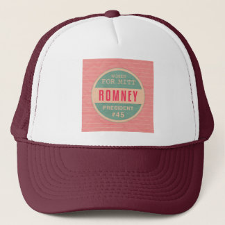 Women For Mitt Romney Trucker Hat