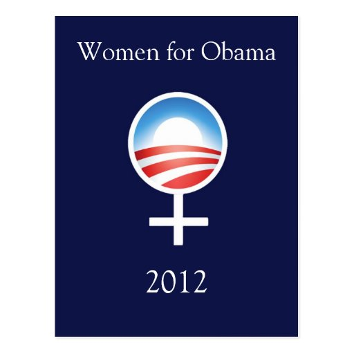Women for Obama 2012 Postcard