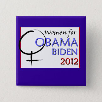 Women for Obama-Biden button