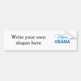 Women for Obama Bumper Sticker