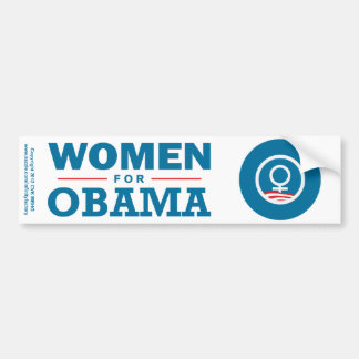 Women for Obama Bumper Sticker